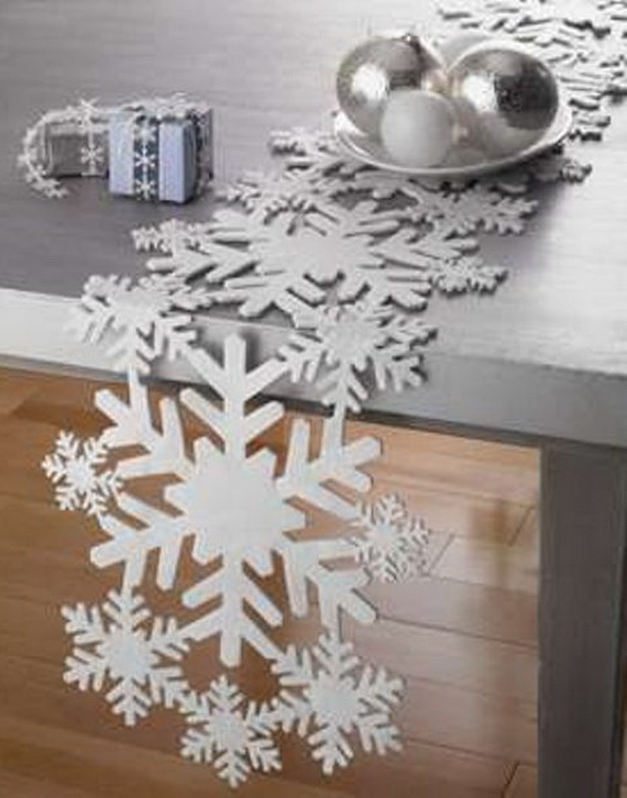 Snowflakes Inspiration Favorite Christmas Decorating Ideas (19)