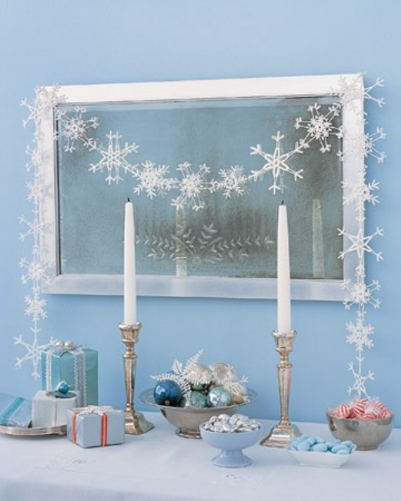 Snowflakes Inspiration Favorite Christmas Decorating Ideas (24)