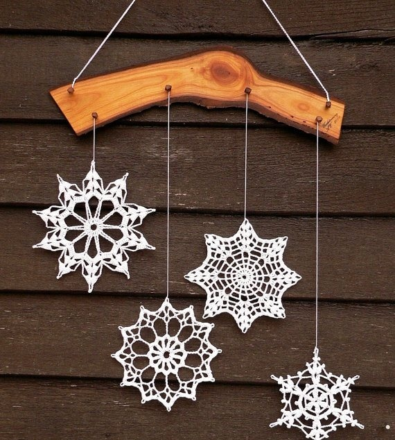 Snowflakes Inspiration Favorite Christmas Decorating Ideas (25)