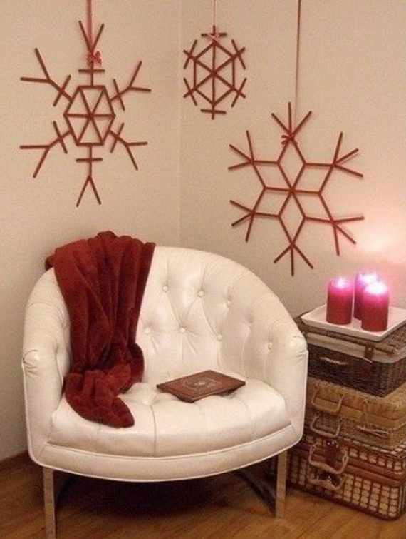 Snowflakes Inspiration Favorite Christmas Decorating Ideas (31)
