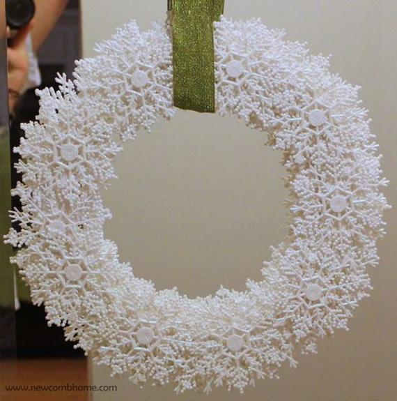 Snowflakes Inspiration Favorite Christmas Decorating Ideas (34)
