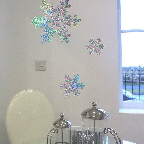 Snowflakes Inspiration Favorite Christmas Decorating Ideas (38)