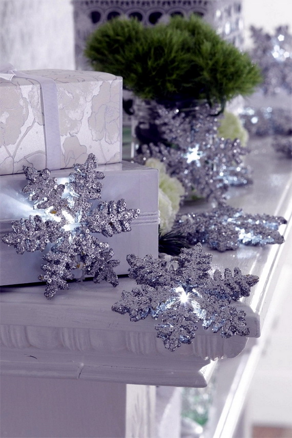 Snowflakes Inspiration Favorite Christmas Decorating Ideas (4)