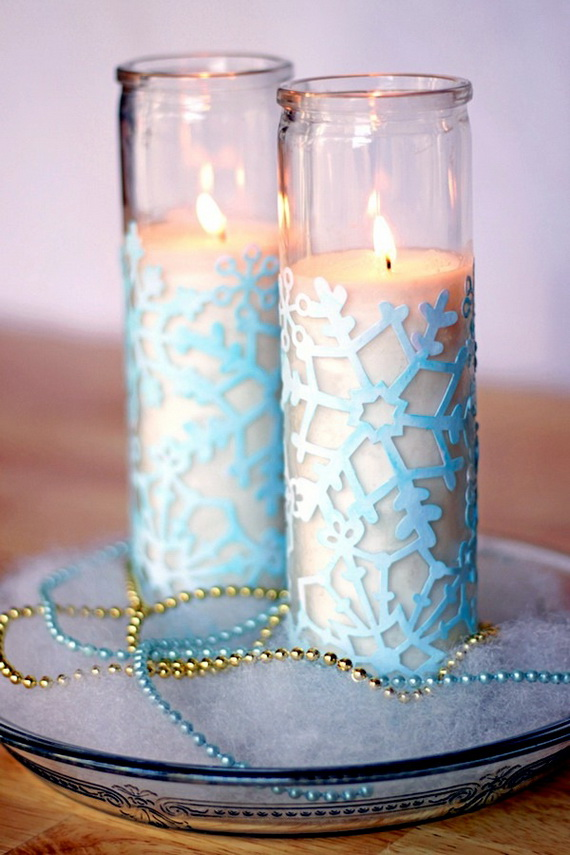 Snowflakes Inspiration Favorite Christmas Decorating Ideas (7)