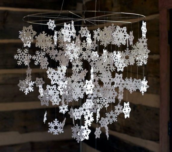 snowflakes inspiration favorite christmas decorating ideas 8