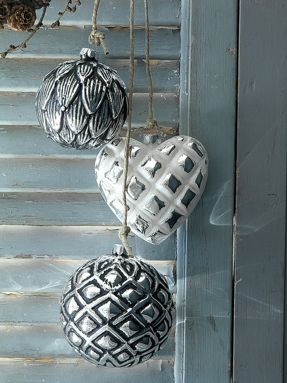 The most stylish Christmas Ornaments Decorations_09