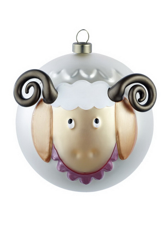 The most stylish Christmas Ornaments Decorations_13