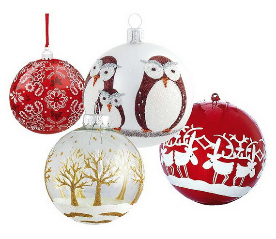 The most stylish Christmas Ornaments Decorations_22