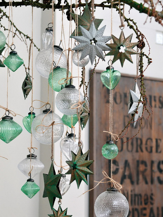 The most stylish Christmas Ornaments Decorations_23