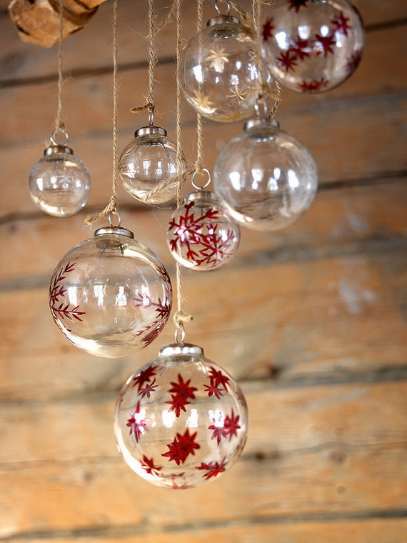 The most stylish Christmas Ornaments Decorations_32