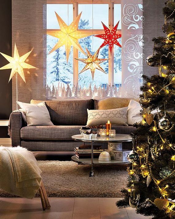The most stylish Christmas Ornaments Decorations_38
