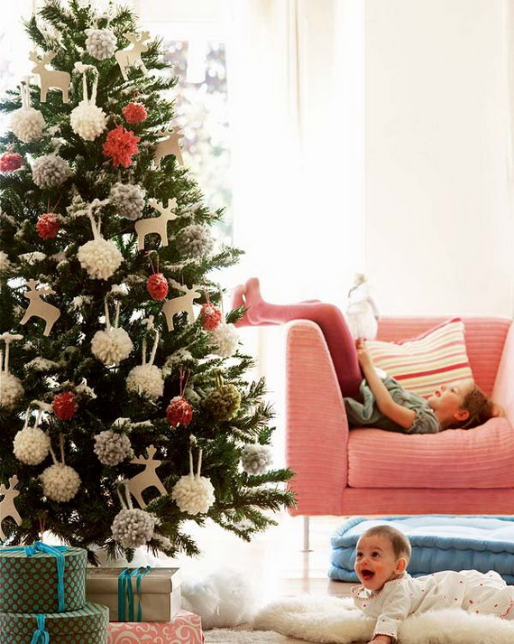 The most stylish Christmas Ornaments Decorations_48