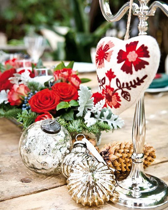 The most stylish Christmas Ornaments Decorations_54