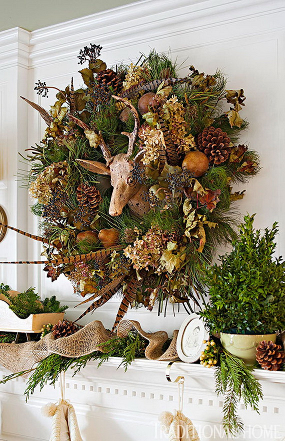 40 Unique And Unusual Astonishing Christmas Holiday Wreath