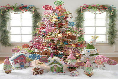 spectacular christmas tree decoration ideas candyland theme christmas
