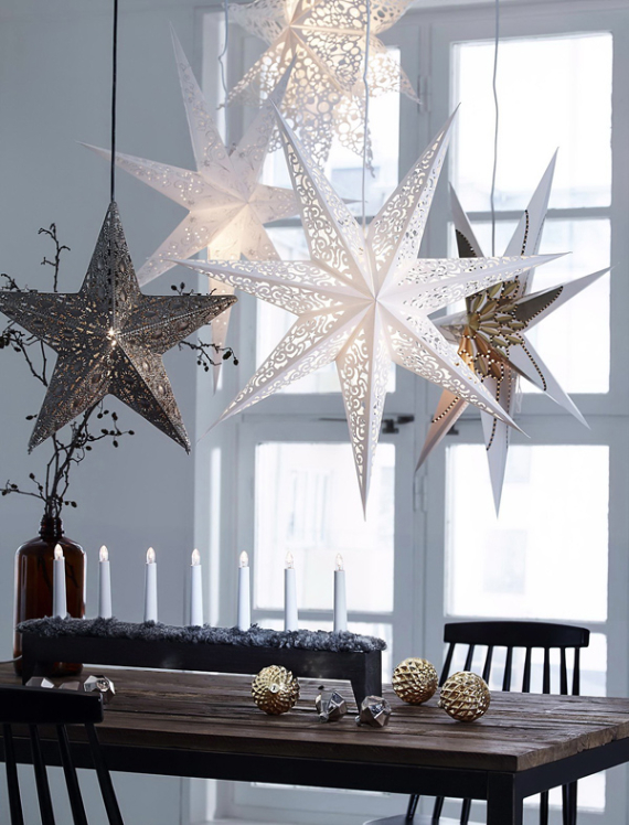 A Little More Festive Scandinavian Christmas Decor (14)