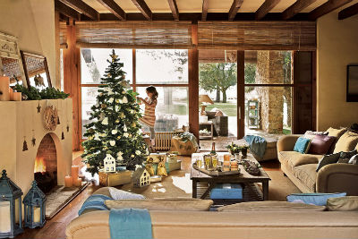 Christmas In A Country House In Spain