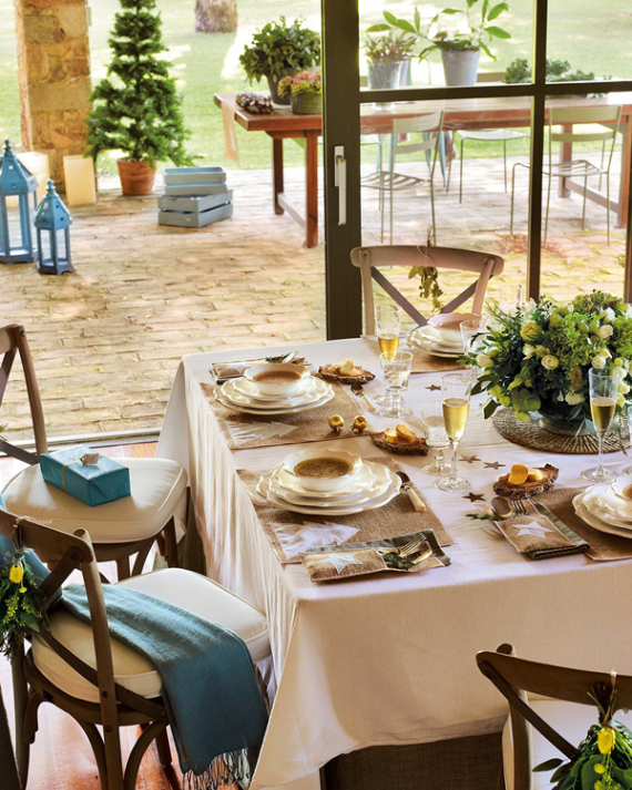 Christmas In A Country House In Spain  (14)