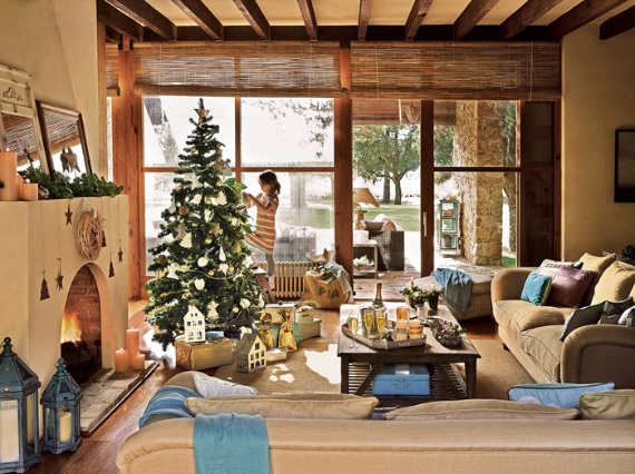 Christmas In A Country House In Spain  (6)