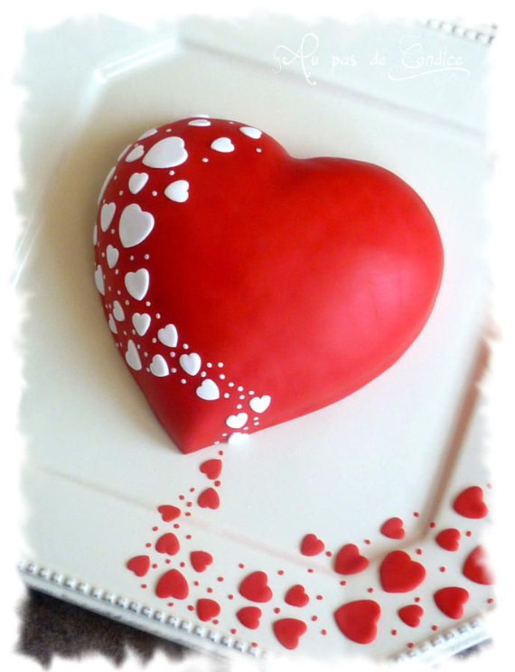 55 Fabulous Valentine Cake Decorating Ideas Family