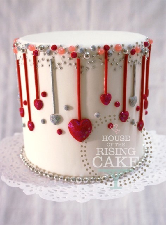 Cake Decorating For Valentine S Day : 55 Fabulous valentine cake decorating ideas - family holiday.net/guide to family holidays on the ...