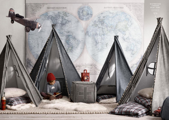 happy holidays for children from restoration hardware 2 - Restoration Hardware Halloween