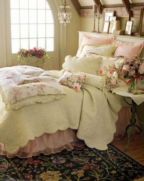 40 Romantic And Tender Feminine Bedroom Design Ideas For