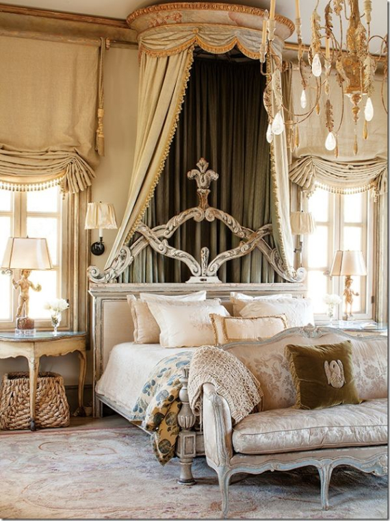 Romantic French Flair Rooms and Decorating Ideas (23)