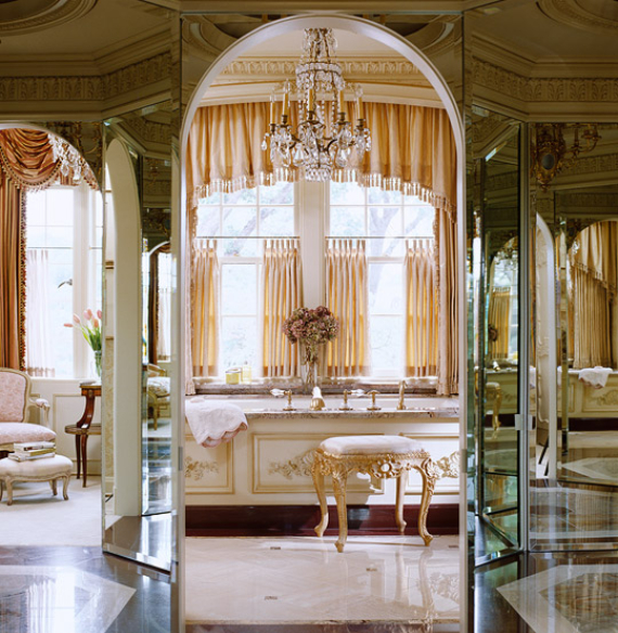 Romantic French Flair Rooms and Decorating Ideas (40)