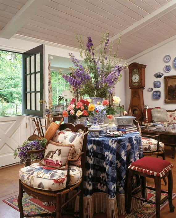 Romantic French Flair Rooms and Decorating Ideas (5)