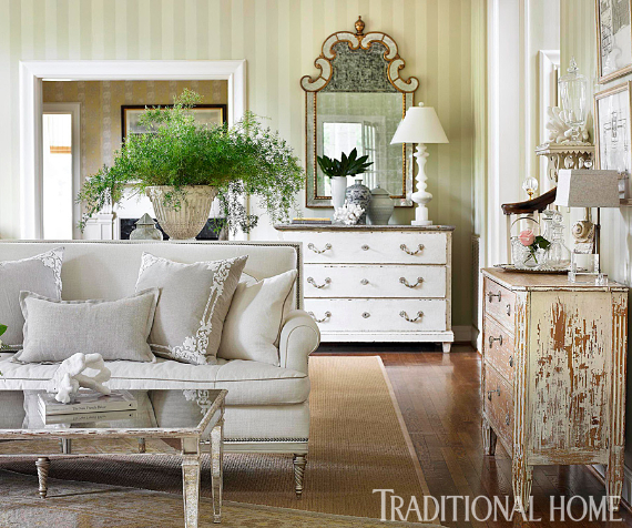 Romantic French Flair Rooms and Decorating Ideas (53)