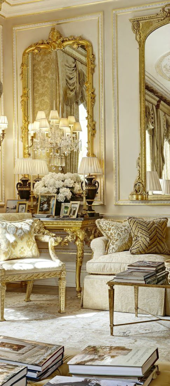 Romantic French Flair Rooms and Decorating Ideas (54)