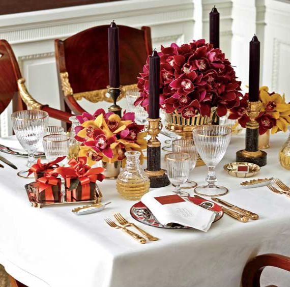 30 impressive table decorating ideas for valentines day for Table design for valentines day