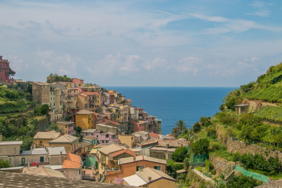 The Colorful Cliff-Side Town of Manarola , La Spezia,  Italy (1)
