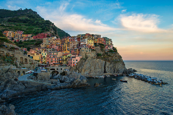 The Colorful Cliff-Side Town of Manarola , La Spezia,  Italy (31)
