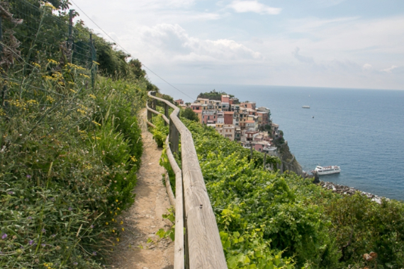 The Colorful Cliff-Side Town of Manarola , La Spezia,  Italy (6)