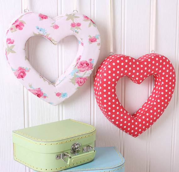 40 Handmade Hearts Decorations that Make Great Valentines Day ...
