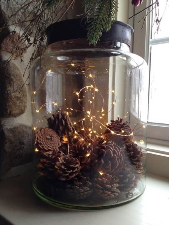 45 atmospheric holiday decorating ideas with fairy lights for 160 net christmas decoration lights clear