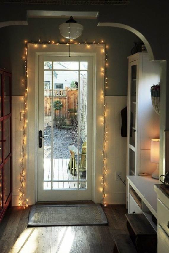 45 Atmospheric Holiday Decorating Ideas With Fairy Lights