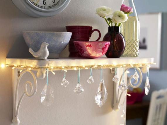 45 Atmospheric Holiday Decorating Ideas With Fairy Lights - family ...