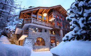 Chalet Le Rocher A Luxury Chalet Embedded In The Cliffs In The Alps Region Of Savoie