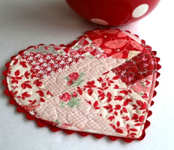 50 Sweet DIY Heart Crafts Ideas For Valentine\'s Day - family ...