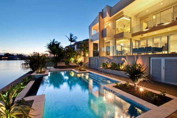 Vibrant Acqua Amalfi Gold Coast Mansion In Australia's