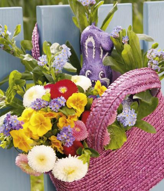 Beautiful Ideas For The Spirit Of Easter And Spring Into Your Home Decor (14)