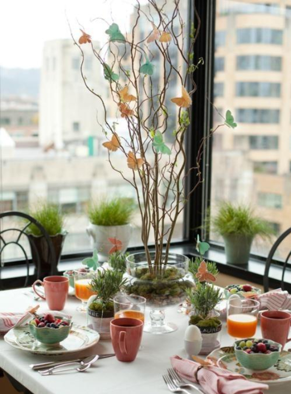 Beautiful Ideas For The Spirit Of Easter And Spring Into Your Home Decor (23)