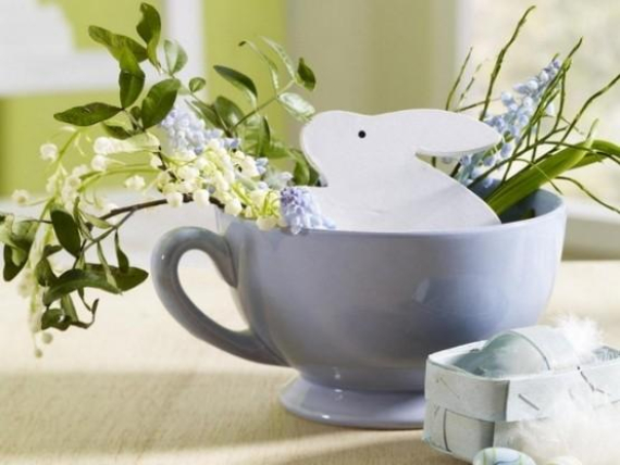 Beautiful Ideas For The Spirit Of Easter And Spring Into Your Home Decor (42)