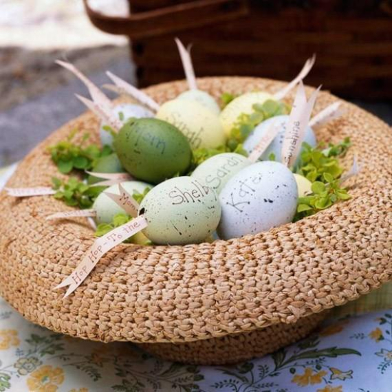 Beautiful Ideas For The Spirit Of Easter And Spring Into Your Home Decor (44)