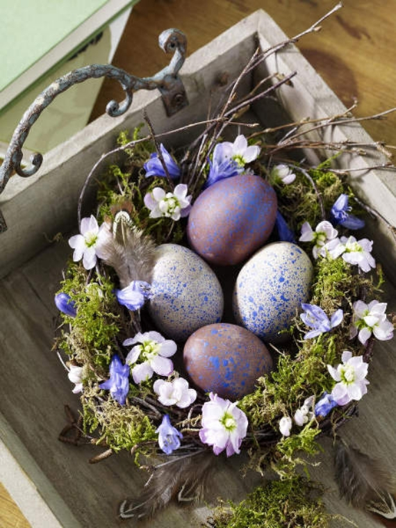 Beautiful Ideas For The Spirit Of Easter And Spring Into Your Home Decor (6)