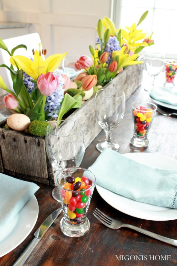 Beautiful Ideas For The Spirit Of Easter And Spring Into Your Home Decor (9)