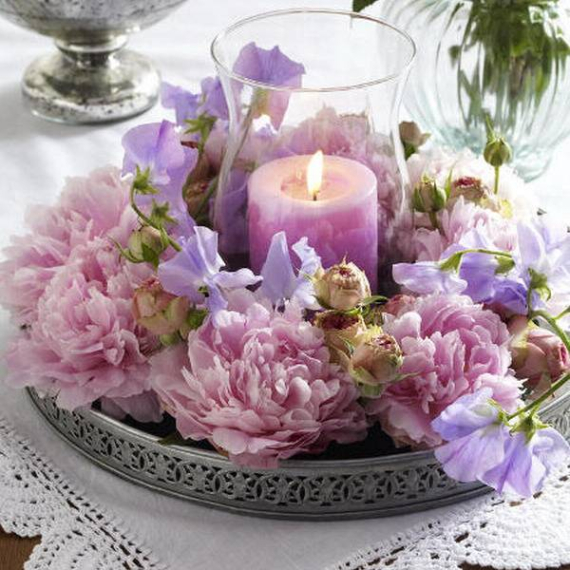 Floral Table Decoration For A Romantic Valentine's Day (26)